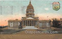 cap002346 - Kansas State Capitol Topeka, Kansas, USA Postcard Post Card