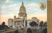 cap002348 - Capitol of Illinois Springfield, Illinois, USA Postcard Post Card