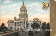 cap002349 - Capitol of Illinois Springfield, Illinois, USA Postcard Post Card