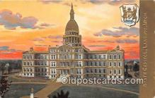 cap002355 - State Capitol Lansing, Mich, USA Postcard Post Card