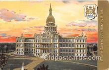 cap002356 - State Capitol Lansing, Mich, USA Postcard Post Card