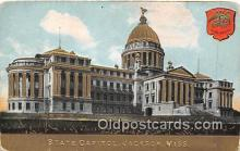 cap002357 - State Capitol Jackson, Miss, USA Postcard Post Card