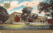cap002369 - State Capitol Columbus, Ohio, USA Postcard Post Card