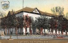 cap002371 - Capitol Pierre, SD, USA Postcard Post Card