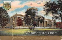 cap002373 - State Capitol Columbus, Ohio, USA Postcard Post Card