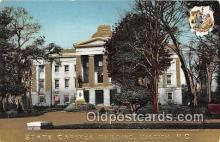 cap002375 - State Capitol Building Raleigh, NC, USA Postcard Post Card