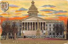 cap002377 - State Capitol Columbia, SC, USA Postcard Post Card