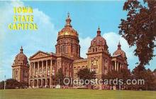 cap002393 - Iowa State Capitol Des Moines, Iowa, USA Postcard Post Card