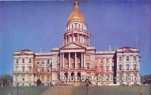 cap002398 - State Capitol Denver, Colorado, USA Postcard Post Card