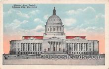 cap002406 - Missouri State Capitol Jefferson City, MO, USA Postcard Post Card