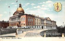 cap002415 - State House Boston, Mass, USA Postcard Post Card