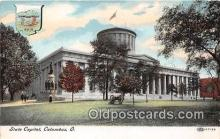 cap002423 - State Capitol Columbus, Ohio, USA Postcard Post Card