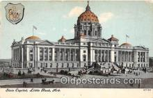 cap002433 - State Capitol Little Rock, Arkansas, USA Postcard Post Card