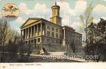 cap002434 - State Capitol Nashville, TN, USA Postcard Post Card