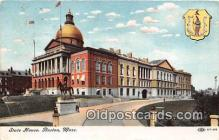 cap002438 - State House Boston, Mass, USA Postcard Post Card