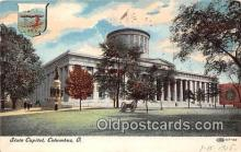 cap002439 - State Capitol Columbus, Ohio, USA Postcard Post Card