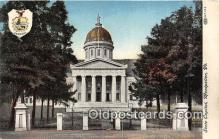 cap002442 - State Capitol Montpelier, VT, USA Postcard Post Card