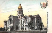 cap002445 - State Capitol Cheyenne, Wyoming, USA Postcard Post Card