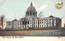 cap002447 - State Capitol St Paul, Minn, USA Postcard Post Card