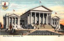 cap002449 - State Capitol Richmond, VA, USA Postcard Post Card