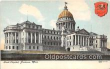 cap002456 - State Capitol Jackson, Miss, USA Postcard Post Card
