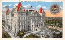 cap002457 - New York State Capitol Albany, NY, USA Postcard Post Card