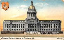 cap002459 - Kentucky New State Capitol Frankfort, KY, USA Postcard Post Card