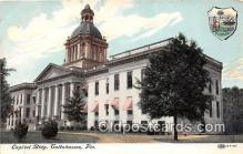 cap002462 - Capitol Building Tallahassee, FL, USA Postcard Post Card