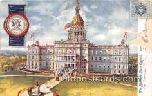 cap002464 - Michigan State Capitol Lansing, Mich, USA Postcard Post Card