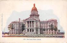 cap002465 - State Capitol Denver, Colorado, USA Postcard Post Card