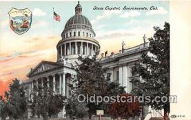 cap002466 - State Capitol Sacramento, CA, USA Postcard Post Card