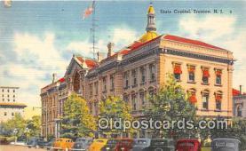 cap002468 - State Capitol Trenton, NJ, USA Postcard Post Card