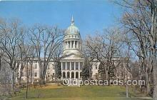 cap002470 - State House Augusta, ME, USA Postcard Post Card