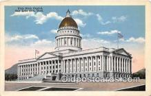 cap002481 - Utah State Capitol Salt Lake City, Utah, USA Postcard Post Card