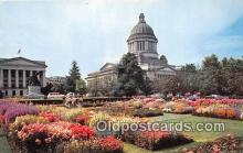 cap002489 - Washington State Capitol Olympia, Washington, USA Postcard Post Card