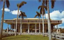 cap002492 - Hawaii's State Capitol Hawaii, USA Postcard Post Card