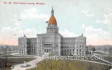 cap002494 - State Capitol Lansing, Mich, USA Postcard Post Card