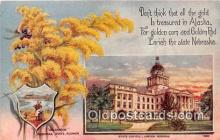 cap002507 - Goldenrod, State Capitol Lincoln, Nebraska, USA Postcard Post Card