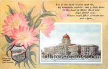 cap002509 - Bitter Root, State Capitol Helena, Montana, USA Postcard Post Card