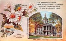 cap002510 - Daisy, State Capitol Concord, New Hampshire, USA Postcard Post Card