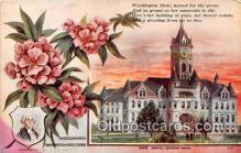 cap002519 - Rhododendron, State Capitol Olympia, Washington, USA Postcard Post Card