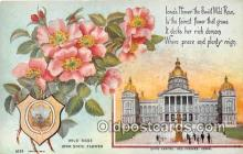 cap002538 - Wild Rose, State Capitol Des Moines, Iowa, USA Postcard Post Card