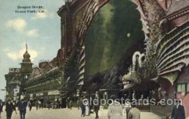 car001029 - Dragon Gorge, Ocean Park, California, Ca, USA California Carnival Parade, Parades Postcard Post Card