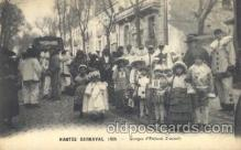 car001039 - Nantes, France 1925 Carnival Parade, Parades Postcard Post Card
