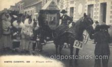 car001041 - Nantes, France Carnaval 1925 Carnival Parade, Parades Postcard Post Card
