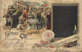 car001046 - Carnival Parade, Parades Postcard Post Card