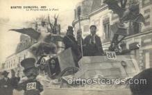 car001048 - Nantes, France located on the Loire River, 1925 Carnival Parade, Parades Postcard Post Card