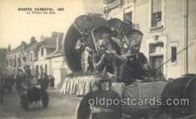 car001050 - Nantes, France located on the Loire River, 1925 Carnival Parade, Parades Postcard Post Card