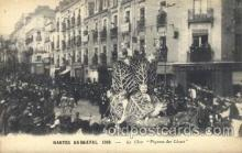 car001051 - Nantes, France located on the Loire River, 1925 Carnival Parade, Parades Postcard Post Card