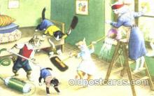 cat000100 - Artist Alfred Mainzer, Cat, Cats  Postcard Post Card
